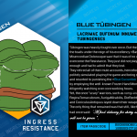 Ingress Mod Card Blue Tübingen 2016