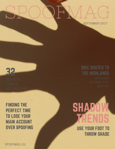 Spoofmag September 2017